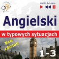 Angielski w typowych sytuacjach. 1-3 - New Edition: A Month in Brighton + Holiday Travels + Business English: (47 tematów na poziomie B1-B2) - audiobook