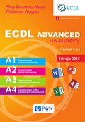 technologie: ECDL Advanced na skróty. Edycja 2015. Sylabus v. 2.0 - ebook
