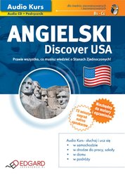 : Angielski Discover USA - audiokurs + ebook